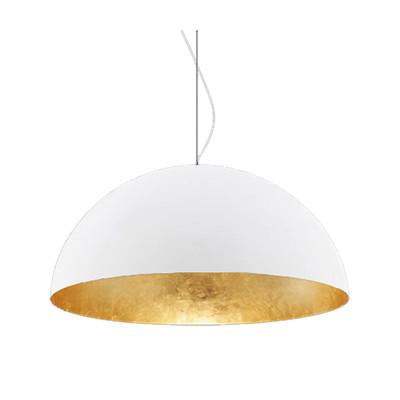 Lampadario Venice bianco, in metallo, diam. 60 cm, E27 MAX60W IP20 LUMICOM