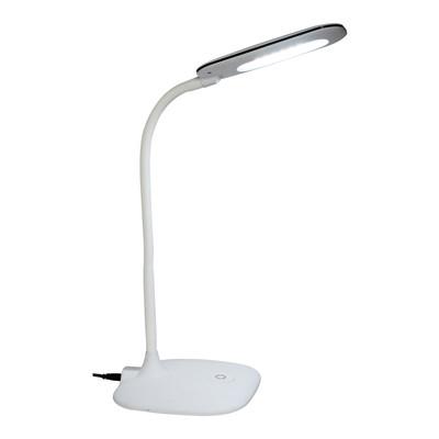 Lampada da scrivania led flessibile Mei bianco, in plastica, LED integrato 6.5W IP20 INSPIRE