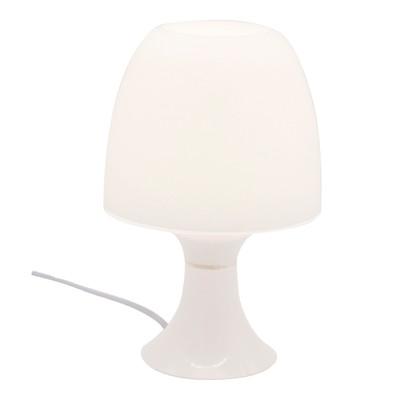 Lampada da tavolo Guacamole bianco, in plastica, LED integrato MAX2,5W IP20 INSPIRE