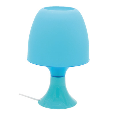 Lampada da tavolo Guacamole blu, in plastica, LED integrato MAX2,5W IP20 INSPIRE