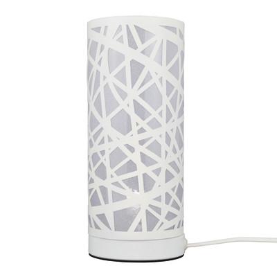 Lampada da tavolo Liverpool bianco, in ferro, E14 MAX 40W IP20 INSPIRE