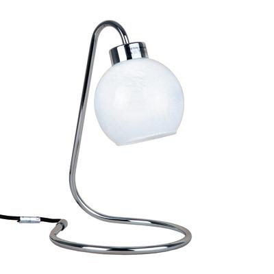 Lampada da comodino Eolo bianco, in vetro, E14 MAX 42W IP20