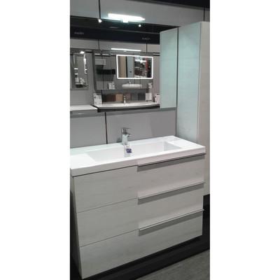Mobile bagno Eklettica bianco L 105 cm