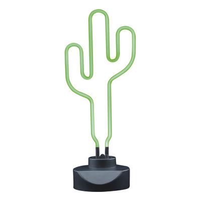 Lampada da scrivania Cactus 230VCA verde, in vetro, LED integrato MAX5,4W IP20