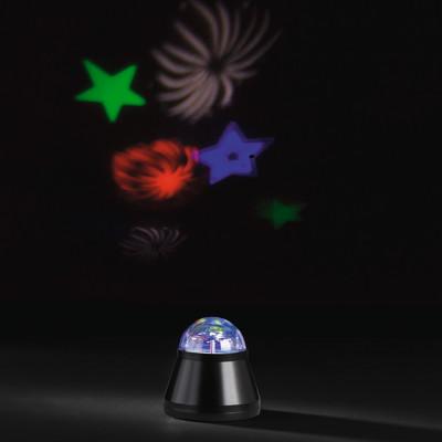 Lampada da tavolo NEW YEAR'S LED RGB trasparente, in plastica, LED integrato MAX0,5W IP20 ACTION