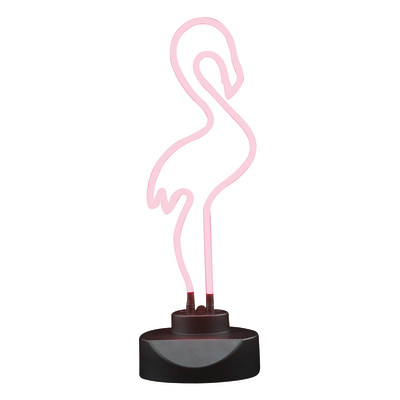 Lampada da scrivania Flamingo 230VCA rosa, in vetro, LED integrato MAX5,4W IP20