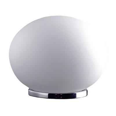 Lampada da tavolo Globo bianco, in vetro, E14 MAX 42W IP20
