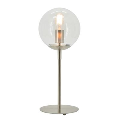 Lampada da tavolo Globus trasparente, in vetro, E27 MAX 40W IP20 LUSSIOL