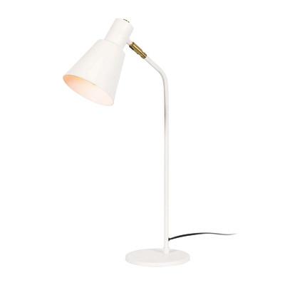 Lampada da scrivania ML013 bianco, in acciaio, E27 MAX 100W IP20