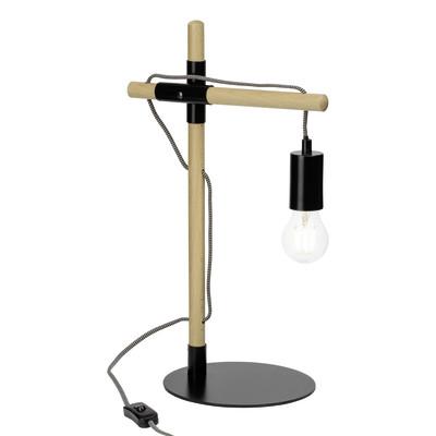 Lampada da tavolo Jarbo nero, in metallo, E27 2xMAX 40W IP20 BRILLIANT