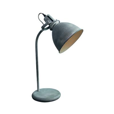 Lampada da tavolo Jesper grigio, in metallo, E27 MAX 60W IP20 BRILLIANT