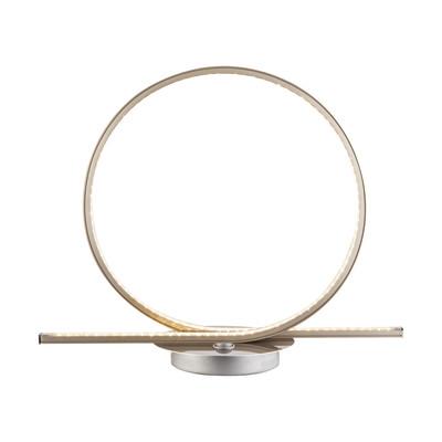Lampada da tavolo 67004-12T nickel, in acciaio, LED integrato MAX12W IP20