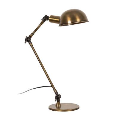 Lampada da scrivania ML021 bronzo, in acciaio, E27 MAX 60W IP20