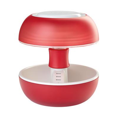 Lampada da tavolo Joyo lightcolor rosso trasparente, in plastica, G5.3 MAX3,5W IP20