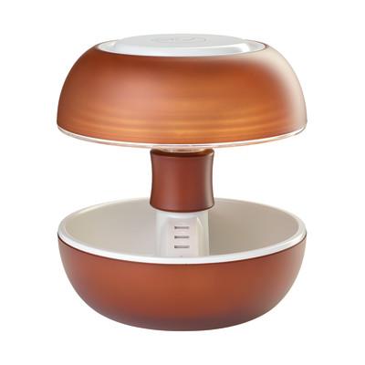 Lampada da tavolo Joyo lightcolor cacao trasparente, in plastica, G5.3 MAX3,5W IP20