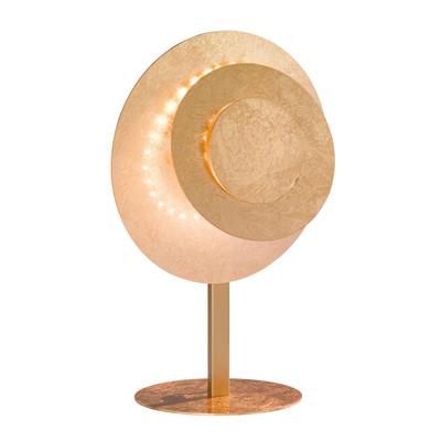 Lampada da tavolo LAUREN oro, in metallo, LED integrato MAX12W IP20 WOFI