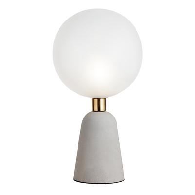 Lampada da tavolo Lunar bianco, in vetro, E14 MAX 40W IP20 SFORZIN