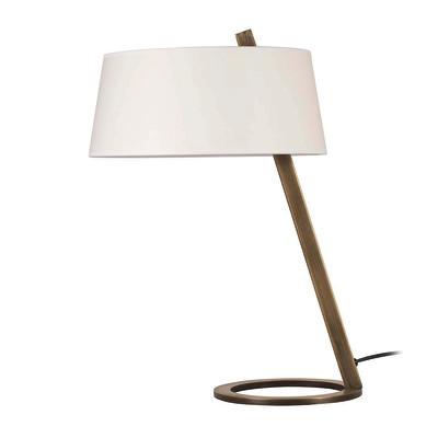 Lampada da tavolo ML103 bianco, in tessuto, E27 MAX 100W IP20