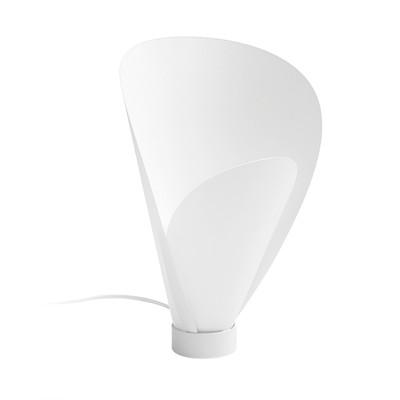 Lampada da tavolo Pine bianco, in plastica, E27 MAX 60W IP20