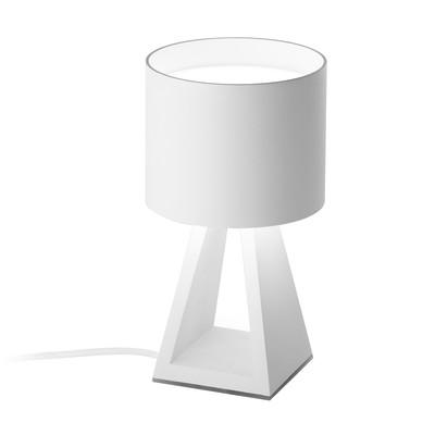 Lampada da tavolo Pup metal bianco, in acrilico, LED integrato MAX11W IP20
