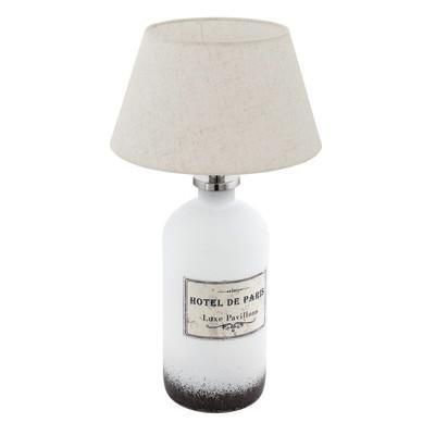 Lampada da tavolo Roseddal bianco, in tessuto, E27 MAX 40W IP20 EGLO
