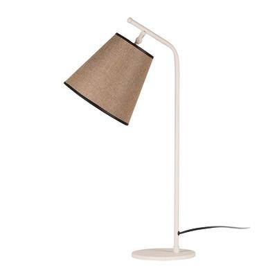 Lampada da scrivania ML090 nero, in tessuto, E27 MAX 100W IP20