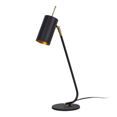 Lampada da scrivania ML030 oro, in acciaio, E27 MAX 60W IP20