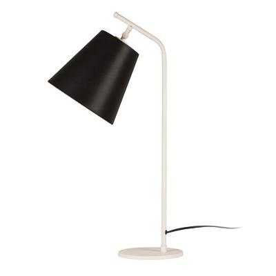 Lampada da scrivania ML091 nero, in tessuto, E27 MAX 100W IP20