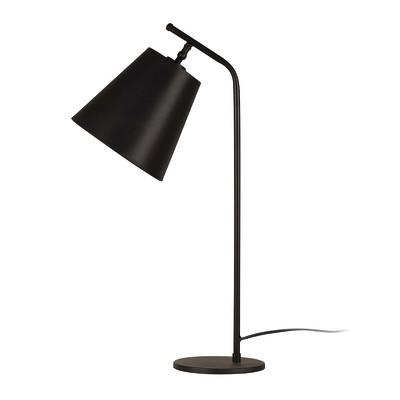 Lampada da scrivania ML095 nero, in tessuto, E27 MAX 100W IP20