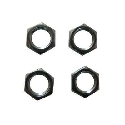Accessorio per lampadario in acciaio grigio 4 pezzi