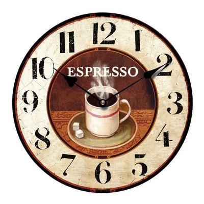 Orologio Espresso 34x34 cm