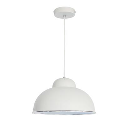 Lampadario Farell bianco, in metallo, diam. 31 cm, E27 MAX60W IP20 INSPIRE