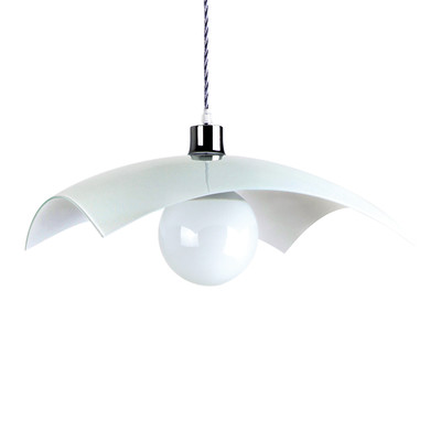 Lampadario Anita bianco, in metallo, E27 MAX42W IP20