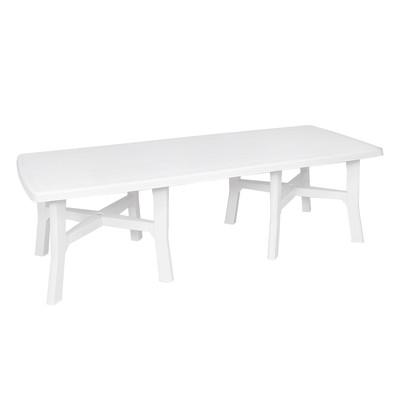 Tavolo da giardino allungabile rettangolare L 180 x P 100 cm