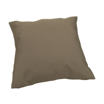 Cuscino per sedia o poltrona Lola tortora 43x43 cm