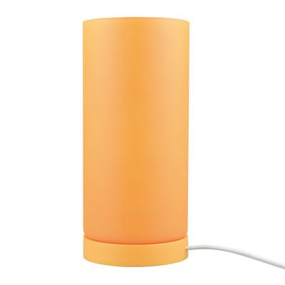 Lampada da tavolo Basic arancione, in vetro, E14 MAX 40W IP20 INSPIRE