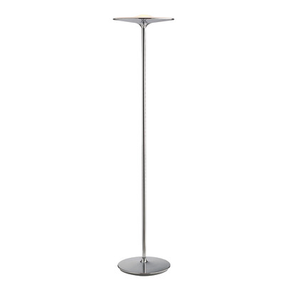 Lampada da terra Ikon bianco, in ferro, H183cm LED integrato 36W 2880LM