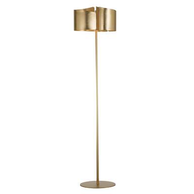 Lampada da terra Imagine oro, in ferro, H182.2cm, 3xMAX60W