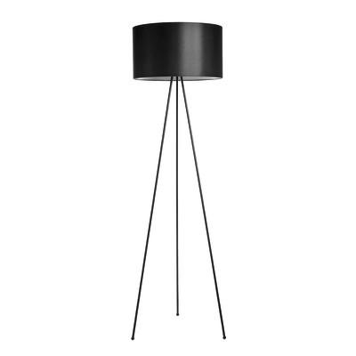 Lampada da terra Tripo nero, in acciaio, H165cm E27 110W