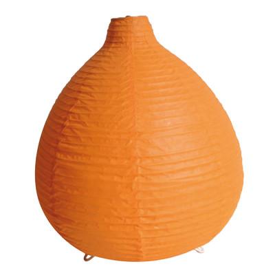 Lampada da tavolo Paz arancione, in carta, E14 MAX 40W IP20 INSPIRE