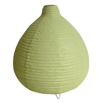 Lampada da tavolo Paz verde, in carta, E14 MAX 40W IP20 INSPIRE