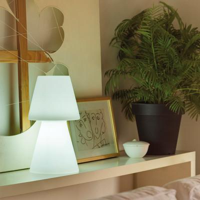 Lampada da esterno Lola H30cm H30cm, in plastica, luce bianco, E27 IP65 NEWGARDEN