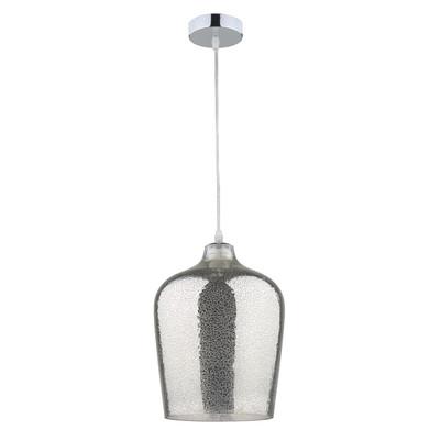 Lampadario Covelo cromo, in vetro, diam. 23 cm, E27 MAX60W IP20 INSPIRE
