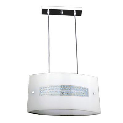 Lampadario CRISTAL bianco, in metallo, E27 2xMAX42W IP20
