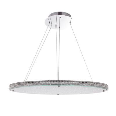 Lampadario Curado trasparente, in cristallo, LED integrato 50W 2700LM IP20