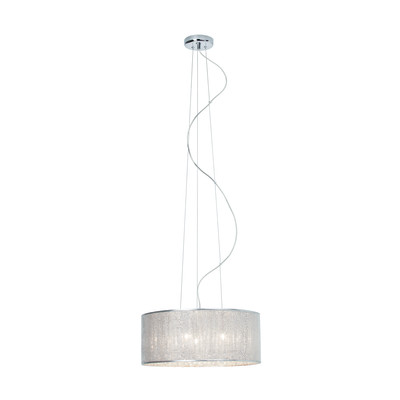 Lampadario Dubai cromo, in metallo, diam. 43 cm, G9 6xMAX33W IP20 BRILLIANT