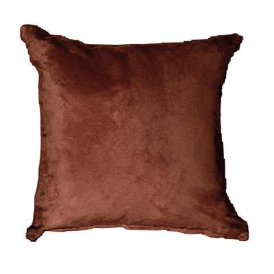 Cuscino per sedia o poltrona Suedine marrone 50x50 cm
