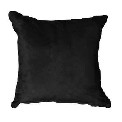 Cuscino per sedia o poltrona Suedine nero 50x50 cm Ø 2 cm