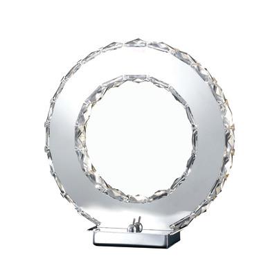 Lampada da tavolo LED-MELODY/L trasparente, in cristallo, LED integrato MAX12W IP20