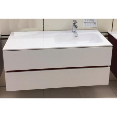 Mobile bagno Bark bianco L 120 cm